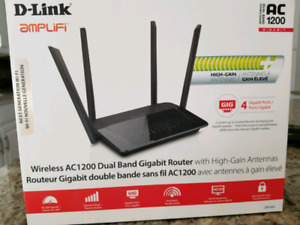 D-link wireless ac1200 dual band router extreme range