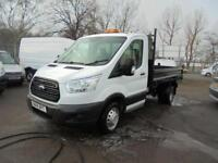 Ford Transit T350 L2 2.2 Tdci 100Ps Chassis Cab DIESEL MANUAL WHITE (2014)