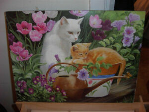 Beautiful Print For Cat Lovers