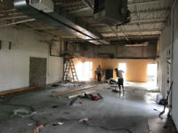 Demolition Residential, Commercial and industrial Services