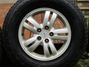 ALLOY WHEEL SET / FREE SNOW TIRES INCLUDED