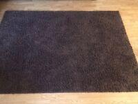 Brown Next large rug