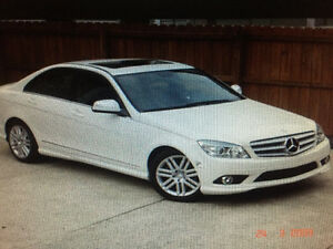 2009 Mercedes-Benz 300-Series WHITE Sedan