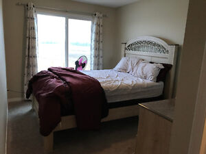 Furnished 2 BR with private bath and living R available immedi