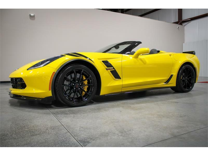 2019 Yellow Chevrolet Corvette Convertible 3LT | C7 Corvette Photo 9