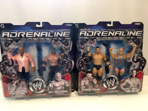 WWE Action Figure Lot NRFB