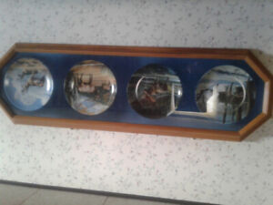 Collector plates and frame
