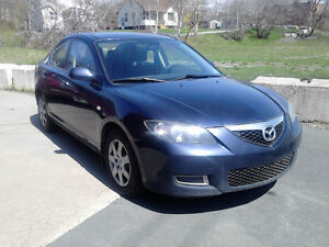 2008 MAZDA 3 AUTOMATIC WITH AIR PRICE ONLY $3988. REBATE $385.00