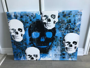 Skull Painting for sale!! Only $10 or best offer!!!