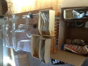 Lab glass with clamps new for sale Strathcona County Edmonton Area image 4