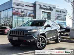 2015 Jeep Cherokee Trailhawk, Leather, Trailer TOW, Navi