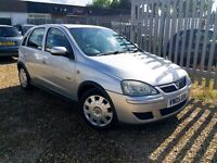 VAUXHALL CORSA 1.4i (12 MONTHS MOT) VERY LOW MILEAGE DESIGN SILVER 5 DOOR HPI CLEAR