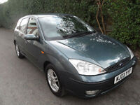 Ford Focus 1.6i 16v 2003, Zetec, 5 Door, New Clutch Just Fitted,