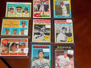 vintage baseball cards - Gehrig/Williams/Spahn/Luis tiant more