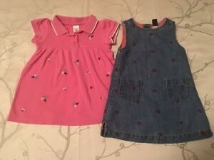 Girl's 18-24 Month Lady Bug Dresses