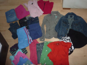 Over 35 pieces size 12 - 14 girls clothing $40, skinny jeans $3