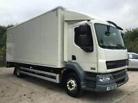 2011 61 DAF LF 55.220 EEV 14 TON 21ft box tail-lift