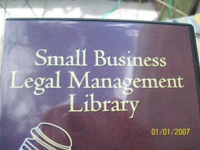SMALL BUSINESS LEGAL MANAGEMENT LIBRARY