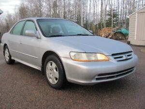 2002 Honda Accord Sedan LXE