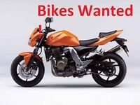 Motorcycles bikes WANTED for CASH