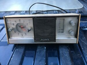 Radio Sony antique Fonctionnel