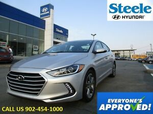2017 Hyundai ELANTRA GLS Sunroof Backup Camera Heated Wheel  (ra