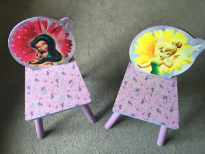 Kids table and chairs with storage $10