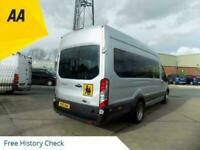 2015 15 FORD TRANSIT 2.2 460 TREND HIGH ROOF BUS 17 SEATER TREND 153 BHP WITH A
