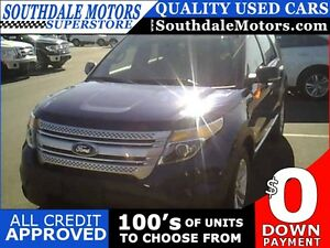 2012 FORD EXPLORER XLT * AWD * 1 OWNER * BLUETOOTH * 7PASS* REAR