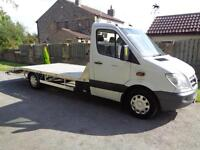 2011 (61reg) Mercedes-Benz Sprinter 313CDI Alloy Recovery Truck, Car Transporter