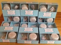 3x boxes of cupcake cases and cake flags 72 cases & 72 flags