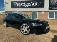 2016 66 AUDI A8 3.0 TDI QUATTRO SPORT DIESEL LUXURY EXECUTIVE SALOON FSH 49K LED