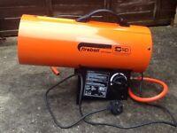 Sip fireball gas heater brand new