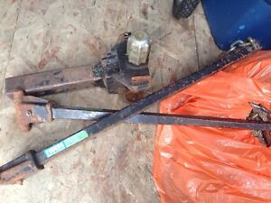 Trailer hitch and bars