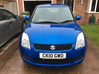 SUZUKI SWIFT 1.3 GL 2010 1 OWNER FROM NEW LOW MILEAGE