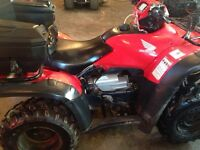 2006 Honda foreman 500 ,needs work or for parts