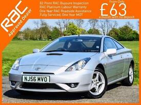 2006 Toyota CELICA 1.8 VVT-i 6 Speed Full Leather Air Con Only 76,000 Miles Full