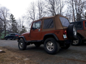 Jeep yj full doors and hard top