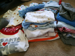 6-9 month fall/winter baby boy LOT