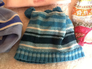 7 infant winter hats