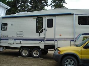 1994 corsair excella 5th wheel trailer 27.5 feet
