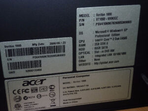 New Condition Acer