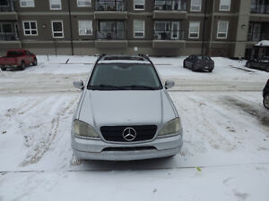 2001 Mercedes-Benz M-Class SUV, Crossover