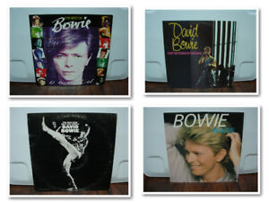 Collection of 33 David Bowie Albums