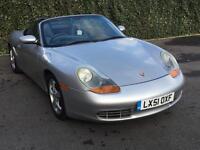 2001 51 Silver Porsche Boxster 2.7 Tiptronic