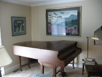 BEAUTIFUL BECKSTEIIN  PARLOUR  GRAND  PIANO.