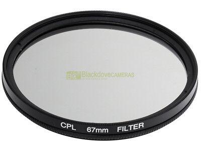 72mm Filtro polarizzatore circolare.