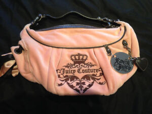 Light Pink Juicy Couture Velour Purse