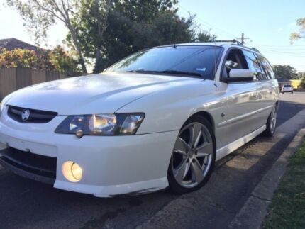 Holden Commodore VY S Wagon WRECKING Heron White 3.8litre V6