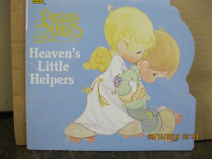 PRECIOUS MOMENTS      HEAVEN  LITTLE HELPERS ANGELS